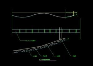 某室内金属顶棚设计CAD图