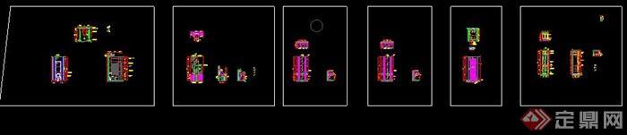 某卫生间节点设计CAD施工图(2)