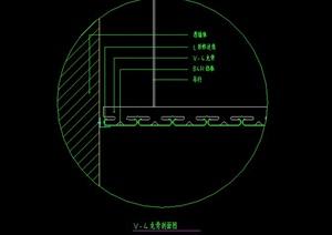 某住宅空间金属顶棚设计CAD施工图