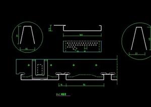某住宅空间金属顶棚设计CAD图