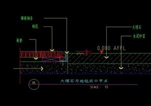 某室内地面设计CAD施工图