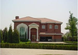 某别墅区别墅建筑规划设计方案