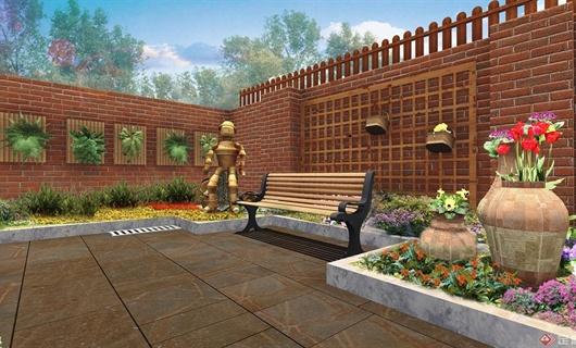 富民某英式风格庭院景观设计方案