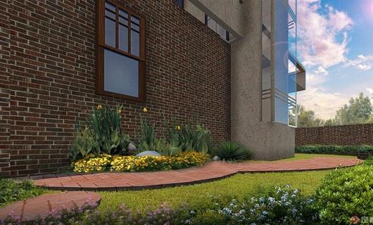 玉溪某地美式风格庭院景观方案