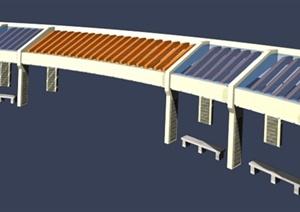 40余款园林景观精品廊架3DMAX模型(含效果图)