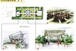 屋顶花园景观分析图