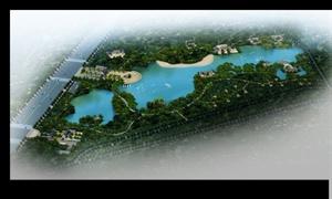 旅游景观规划公园