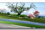 某厂区入口景观设计效果图3