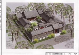 北京四合院建筑設計要素圖