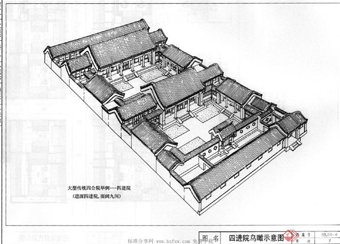 北京四合院建筑設計要素圖(3)
