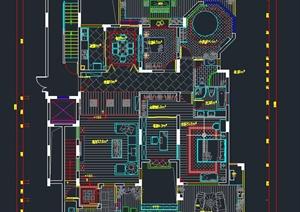 东南亚风格住宅装饰设计施工图