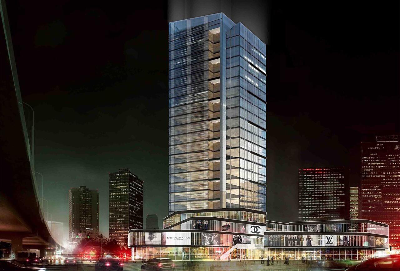 高层办公楼建筑设计排1