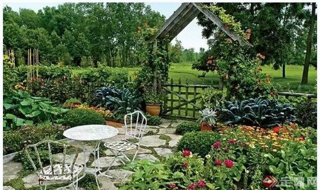 多款庭院花园景观设计方案与实景图(4)