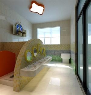 幼儿园厕所装修效果图