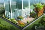 D&Y丽湾域庭院鸟瞰效果图