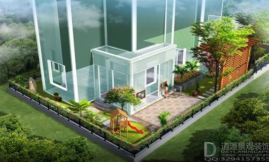 蘇州麗灣域別墅庭院景觀設計
