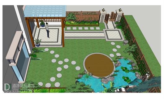 南京北江锦城庭院景观设计