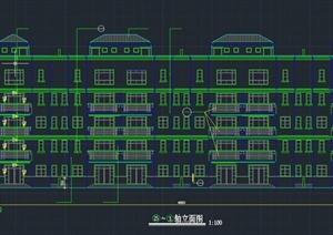 某联排别墅建筑设计CAD施工图