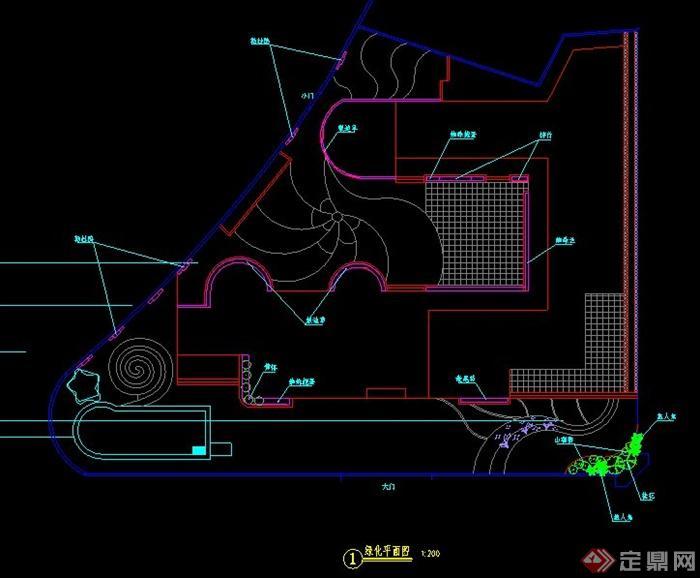 某幼儿园景观设计施工图(1)