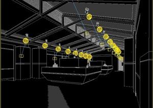 某住宅阳台景观3dmax模型