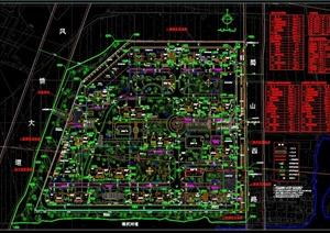 小区总体布置设计平面图