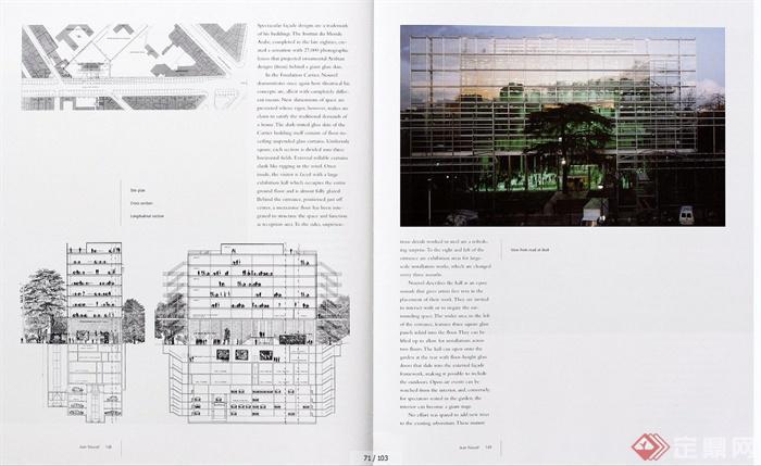 多个博物馆建筑设计外文资料JPG文本(1)