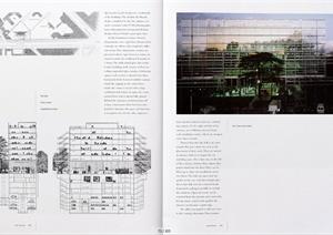 多个博物馆建筑设计外文资料JPG文本