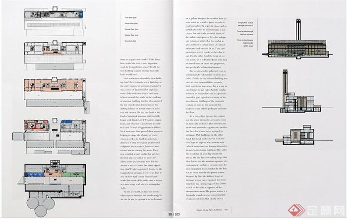 多个博物馆建筑设计外文资料JPG文本(6)
