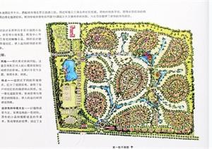 多个住宅景观规划设计JPG方案图