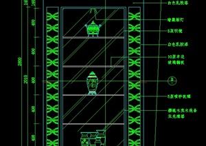 室内装饰墙设计CAD立面图