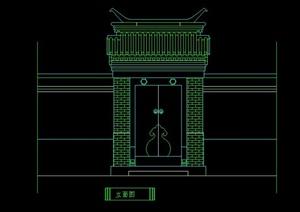 常用建筑门设计CAD立面图集