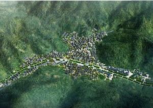 某地装饰风格梅家坞住宅建筑规划设计JPG方案图