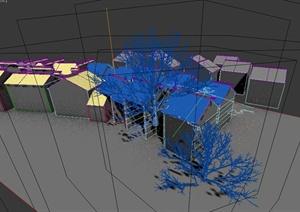 某住宅区景观设计3DMAX模型