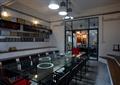会议室,会议桌椅,陈列架,吊灯