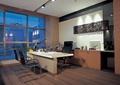 办公空间,办公室,办公桌椅,装饰墙