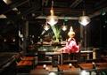 桌椅,吊灯,陈设,工作室,休息区