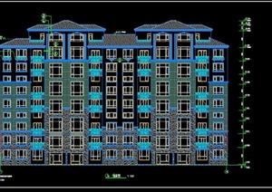某多层住宅建筑结构电气暖通和给排水施工图