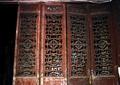 木雕门,门扇