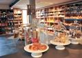雜貨店,糕點,貨架,桌椅
