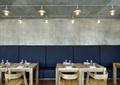 咖啡廳,長沙發,桌椅,吊燈,背景墻