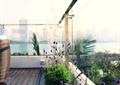 阳台,玻璃护栏