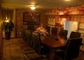 咖啡厅,会议室,桌椅,电视,装饰墙