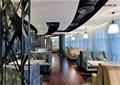 咖啡厅,餐厅,装饰墙,幕帘,桌椅