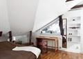 卧室,阁楼,书桌椅,置物架