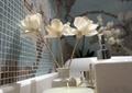卫生间,装饰干花