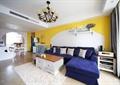 客厅,沙发,茶几,灯饰,柜子,地毯