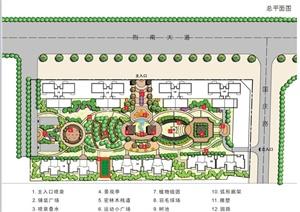 御景苑住宅区景观设计方案文本