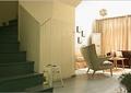 客厅,单人沙发,楼梯
