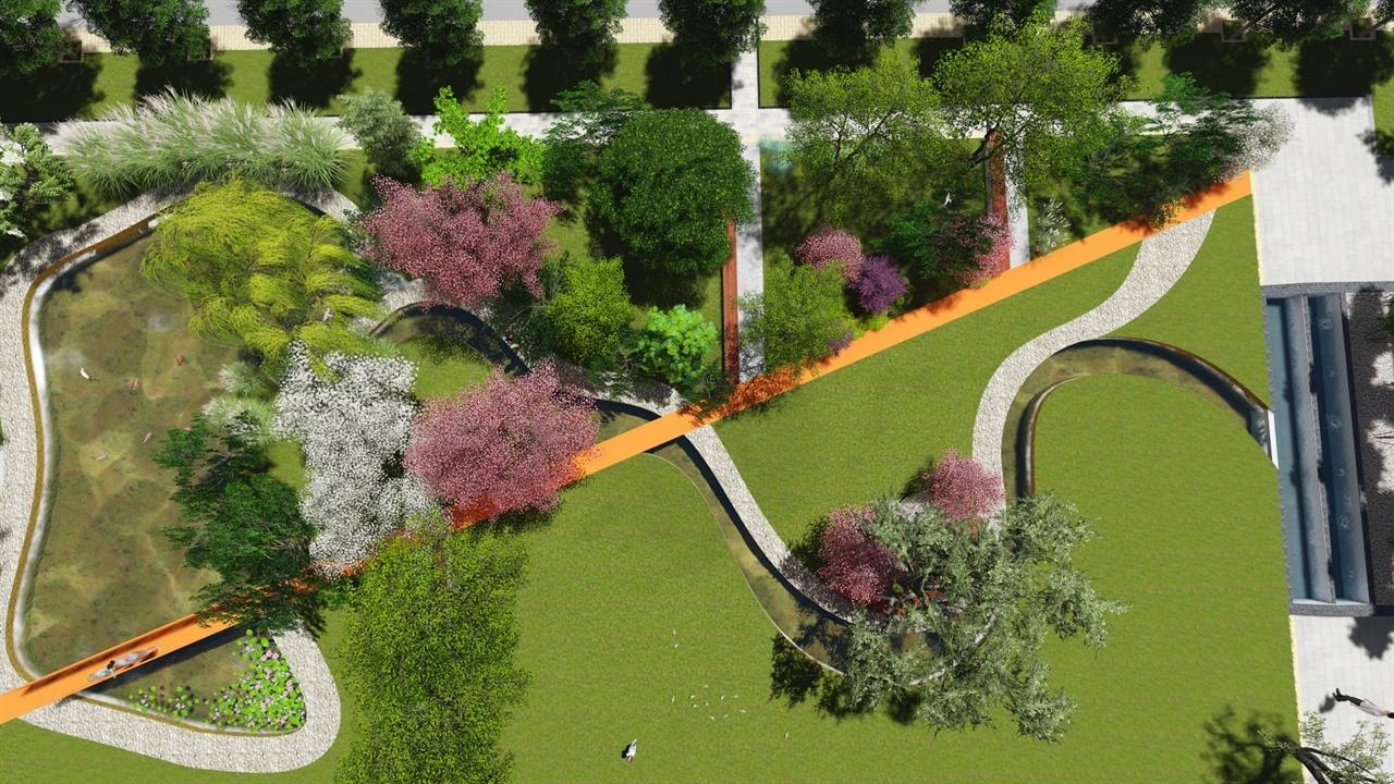 jiachen-center landscape design GAI birds view01
