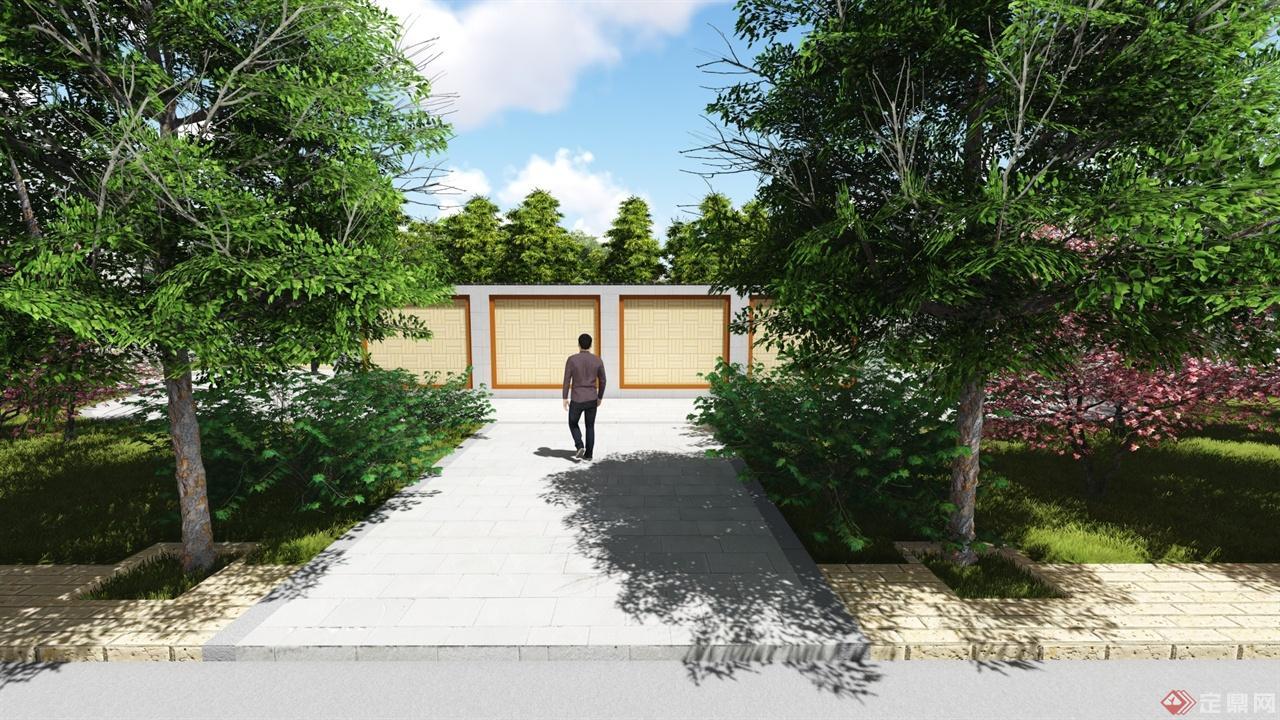 jiachen-center landscape design p view02